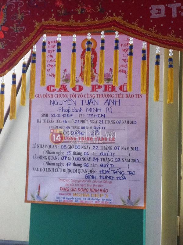 Các sao nghẹn ngào trong tang lễ toàn màu trắng của Wanbi Tuấn Anh 44