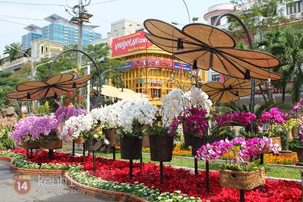 Những hình ảnh đầu tiên về đường hoa Nguyễn Huệ 2013 7