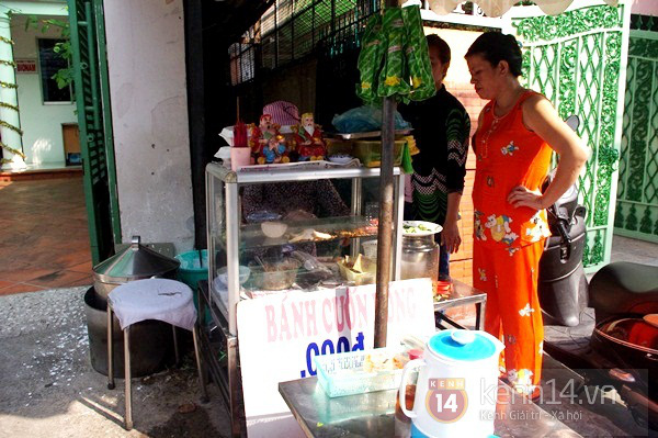 Bánh cuốn có nhân và bánh tôm siêu ngon ở Bình Thạnh 11
