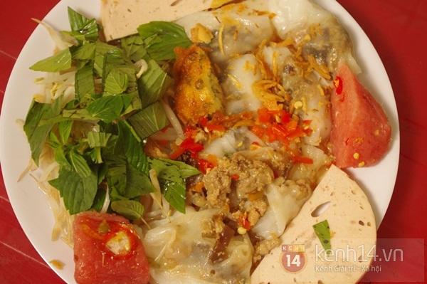 Bánh cuốn có nhân và bánh tôm siêu ngon ở Bình Thạnh 7
