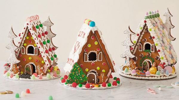 Xem cận cảnh cách làm ngôi nhà bánh gừng ngọt ngào 3
