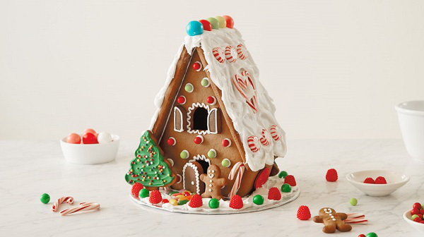 Xem cận cảnh cách làm ngôi nhà bánh gừng ngọt ngào 2