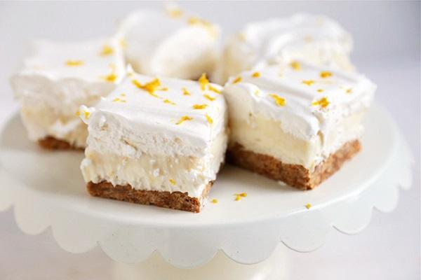 Dùng sữa đặc có đường để làm cheesecake chanh vàng quá ngon 9