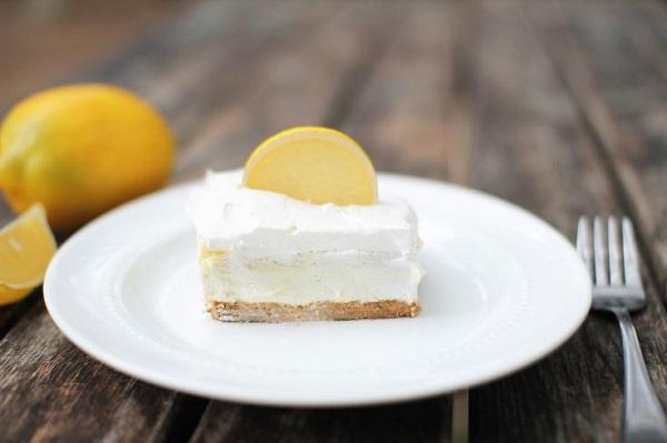 Dùng sữa đặc có đường để làm cheesecake chanh vàng quá ngon 10
