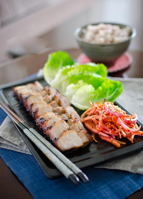 Xá xíu nướng kiểu Hàn Quốc ăn ngon dễ ghiền 8