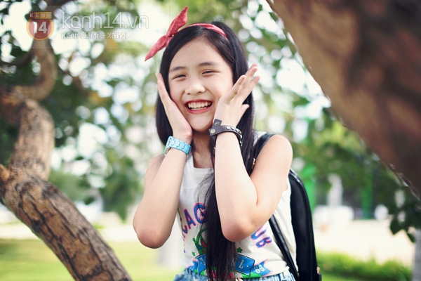 Cô bé 9 tuổi siêu đáng yêu gây sốt tại cuộc thi Be Stylist 4