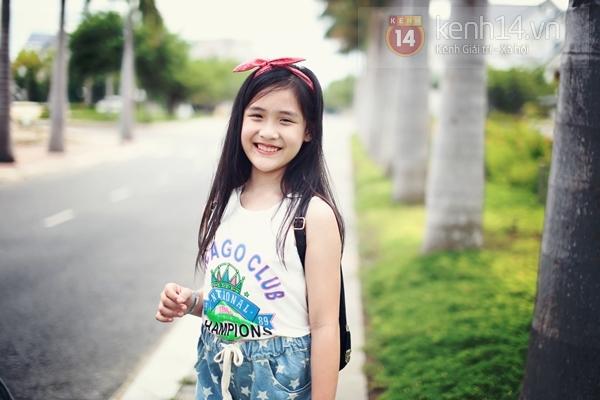 Cô bé 9 tuổi siêu đáng yêu gây sốt tại cuộc thi Be Stylist 9