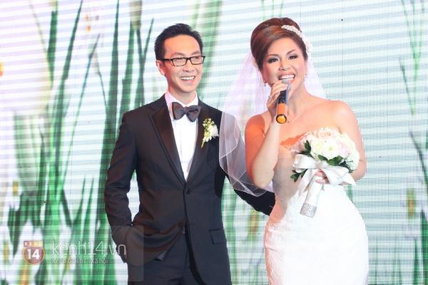 """Con gái Cẩm Ly hóa """"thiên thần rải hoa"""" trong đám cưới Minh Tuyết 27"""
