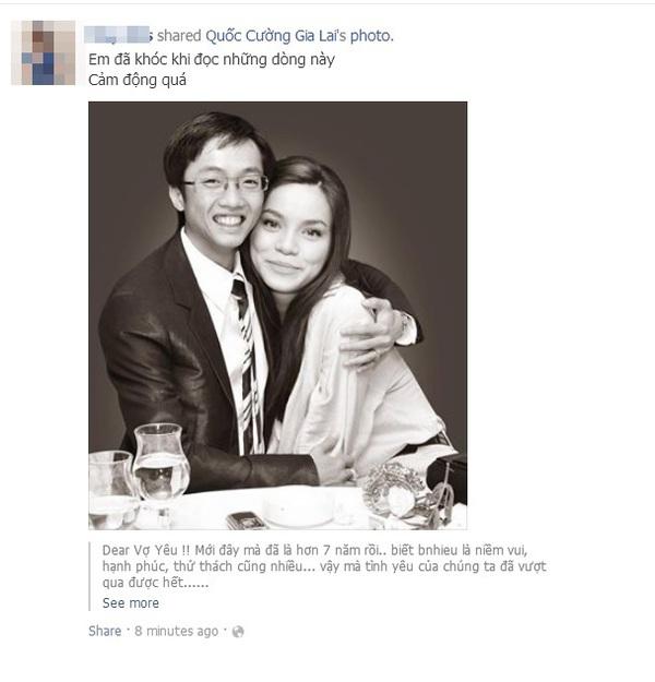 """Cư dân mạng và sao Việt """"hối thúc"""" Hà Hồ đồng ý lấy Cường Đô La 7"""