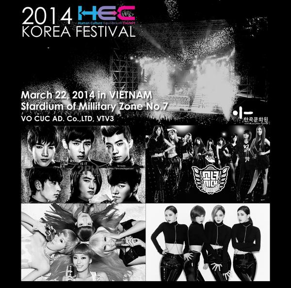 HOT: SNSD, 2PM và dàn sao Hàn sẽ đến Việt Nam ngày 22/3 1