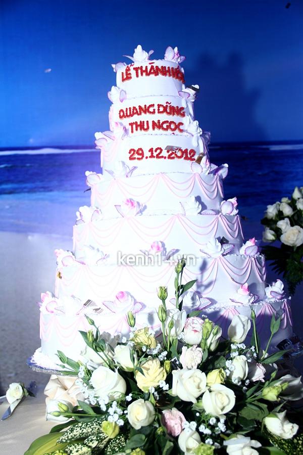 """Đám cưới đậm chất """"biển"""" của Thu Ngọc (Mây Trắng) 16"""
