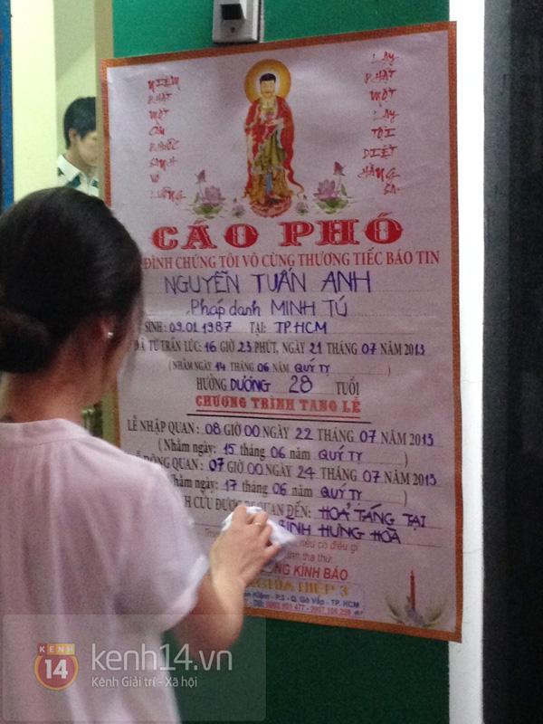 Các sao nghẹn ngào trong tang lễ toàn màu trắng của Wanbi Tuấn Anh 45