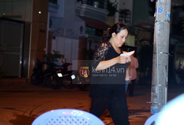 Các sao nghẹn ngào trong tang lễ toàn màu trắng của Wanbi Tuấn Anh 1