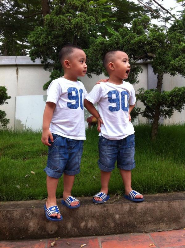 Minh Vương (M4U) khoe 2 con trai nuôi song sinh 23