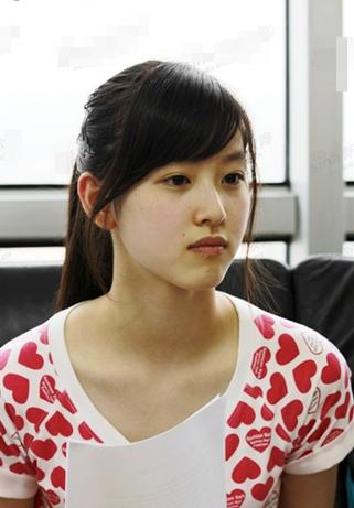 """""""Cô bé trà sữa"""" trở thành hot girl đẹp nhất Trung Quốc 9"""