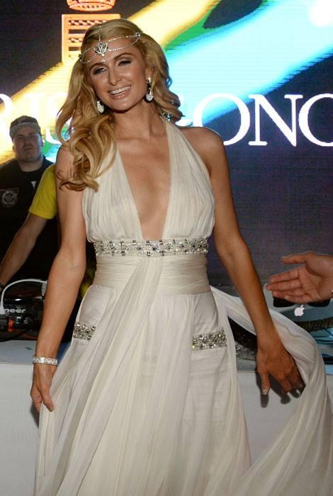 Lý Nhã Kỳ dự tiệc cùng Paris Hilton, Sharon Stone tại Cannes 5