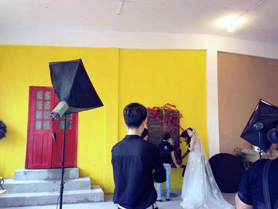 Hồ Ngọc Hà chụp ảnh cưới cùng Dương Triệu Vũ 4
