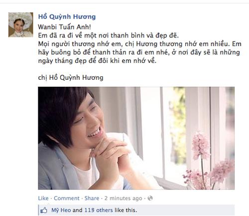 "Đám tang Wanbi Tuấn Anh phủ ""màu trắng"" Facebook sao tuần qua 2"