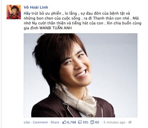 "Đám tang Wanbi Tuấn Anh phủ ""màu trắng"" Facebook sao tuần qua 3"