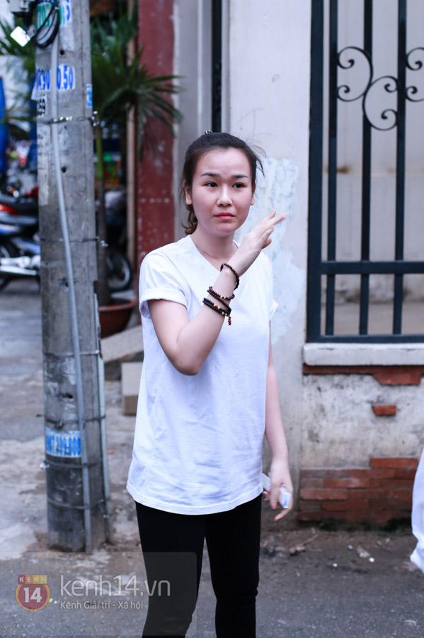 Các sao nghẹn ngào trong tang lễ toàn màu trắng của Wanbi Tuấn Anh 42