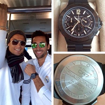 Ronaldo hào phóng tặng đồng hồ 200 triệu cho mỗi thành viên Real Madrid 2