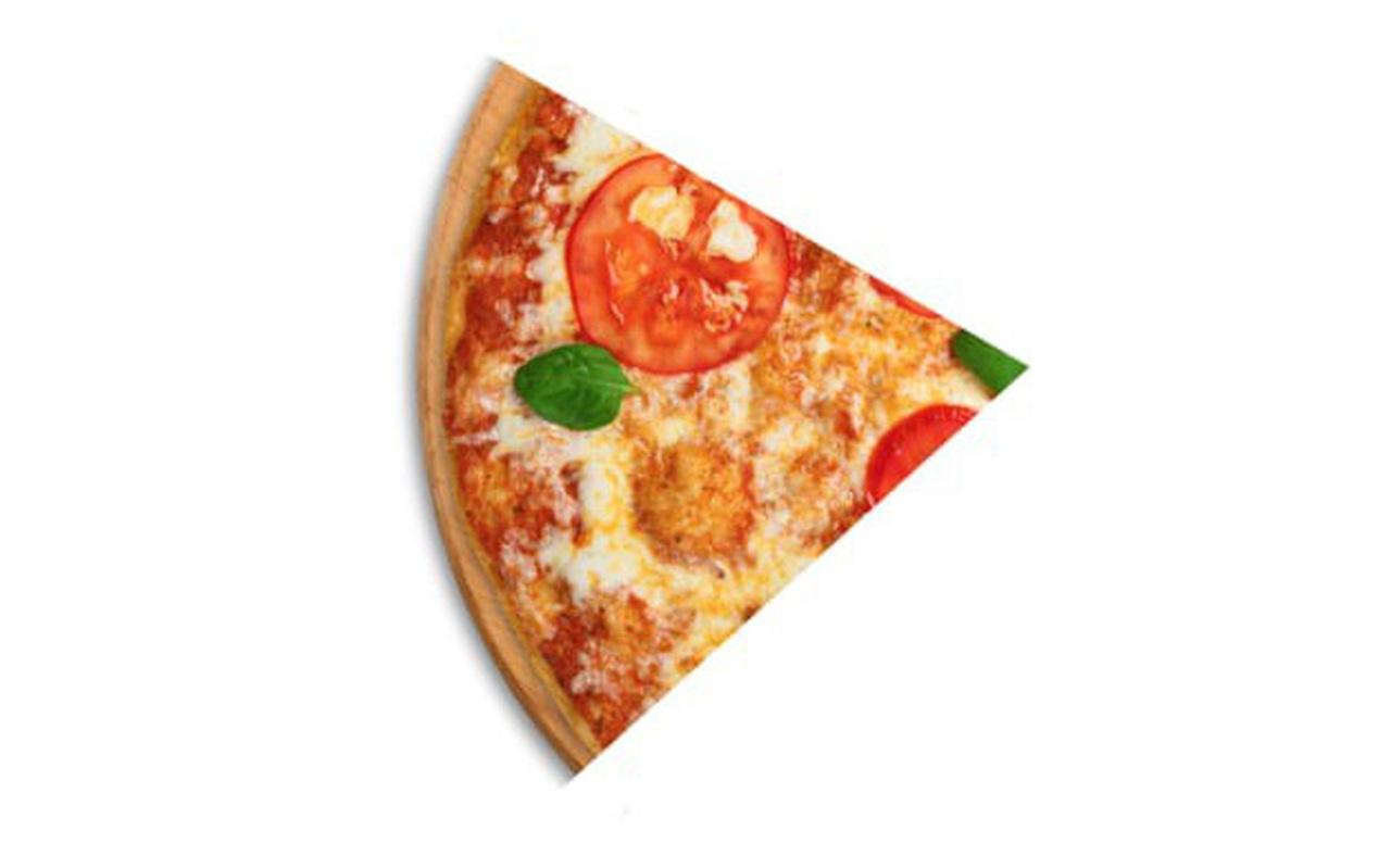 Đố bạn biết 6 miếng pizza này được chia thành mấy phần