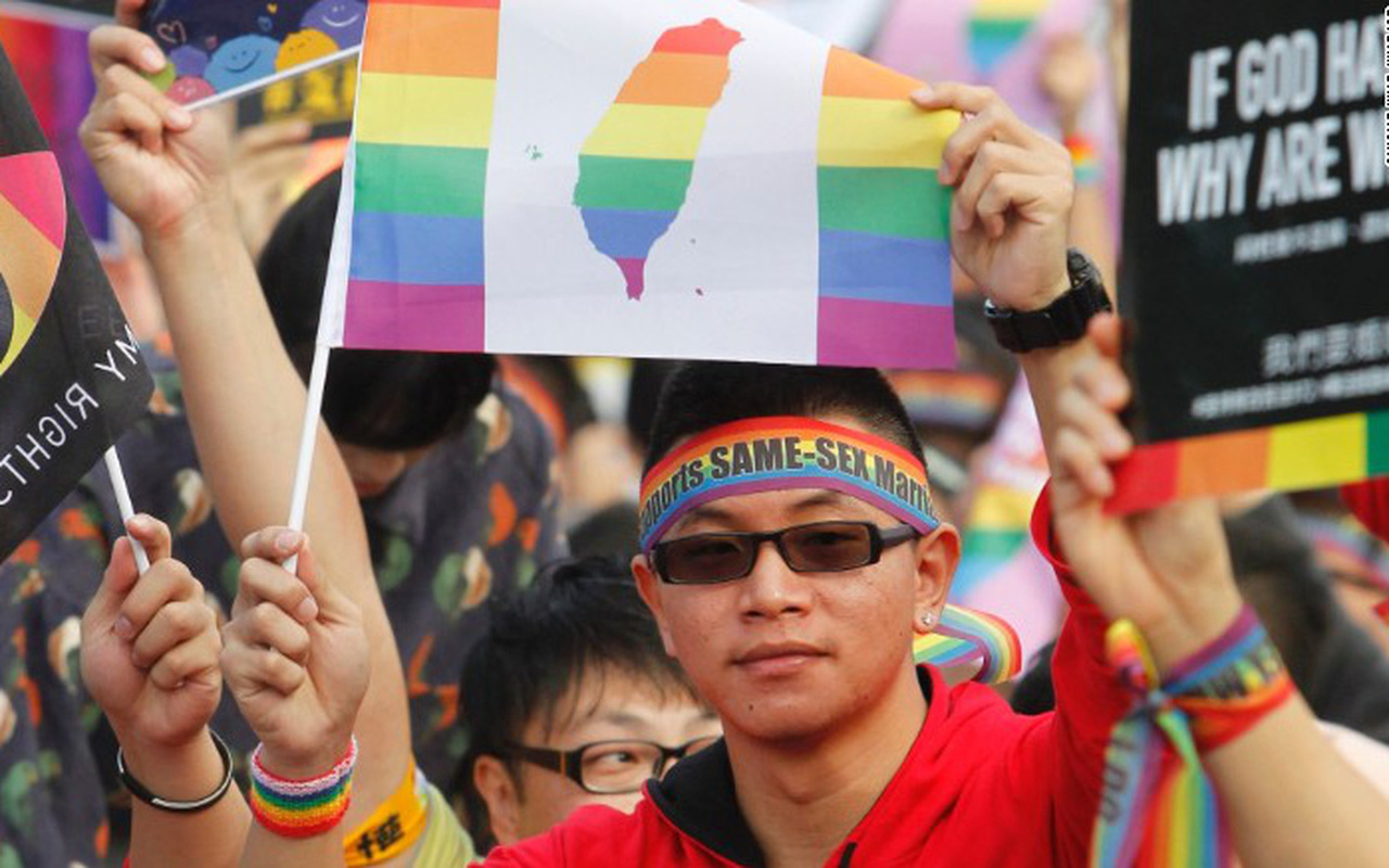Đài Loan trở thành nơi đầu tiên hợp pháp hóa hôn nhân đồng tính tại châu Á