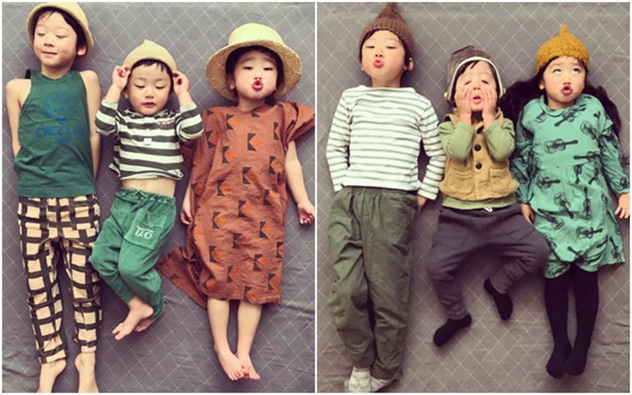 Gia đình Nhật Bản có tới 3 anh em cùng siêu lầy lội, đến khi nhìn thấy cha mẹ mọi người mới hiểu nguyên nhân