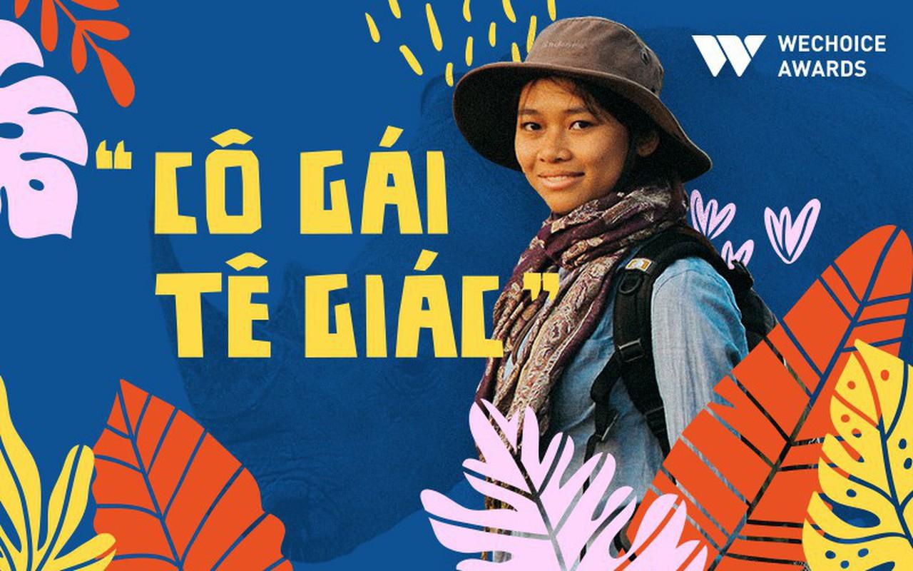 """""""Cô gái tê giác"""" Nguyễn Thu Trang: Cô gái bé nhỏ mang trong mình tình yêu khổng lồ với động vật hoang dã"""