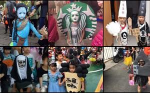 """""""Đại chiến"""" Halloween: Quên ma quỷ đi, giờ hóa trang thành đồ ăn vặt và trà sữa mới… đáng sợ"""