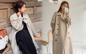 Sắm trench coat lúc này là đúng đắn nhất, lên đồ đơn giản cỡ nào cũng sang chảnh hay ho như gái Hàn