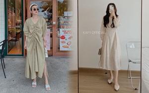 11 mẫu váy dài tay nền nã thích hợp cho ngày se lạnh, diện lên là chỉ có xinh lịm tim