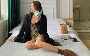 Chưa vội sắm đồ Thu, gái Pháp có cả loạt cách tận dụng váy 2 dây mùa Hè cực thông minh