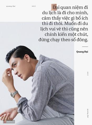 Quang Đại - Đấy là chàng trai trong mơ của mọi cô gái, không chỉ bởi gương mặt đẹp và chiều cao 1m88 - Ảnh 2.