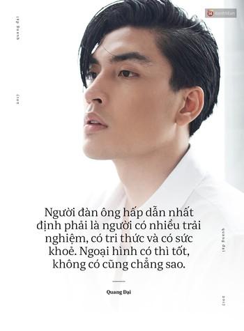Quang Đại - Đấy là chàng trai trong mơ của mọi cô gái, không chỉ bởi gương mặt đẹp và chiều cao 1m88 - Ảnh 9.