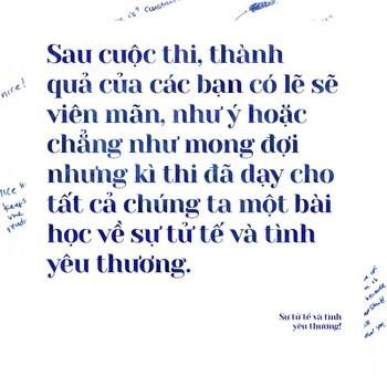 Những câu chuyện đẹp về sự tử tế và tình yêu thương trong kì thi THPT Quốc gia năm 2017 - Ảnh 2.