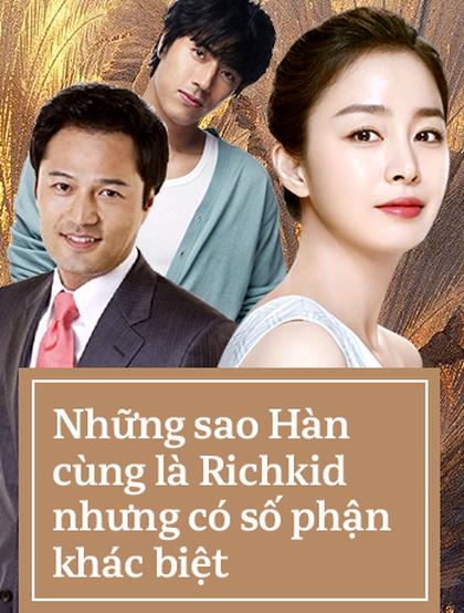 Những diễn viên Hàn Quốc xuất thân trâm anh thế phiệt nhưng lại có cuộc đời hoàn toàn trái ngược