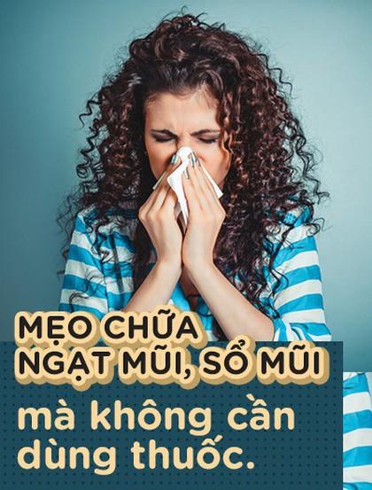 Thời tiết mà 3 người sổ mũi, 7 người ngạt mũi thì làm sao cho khỏi?