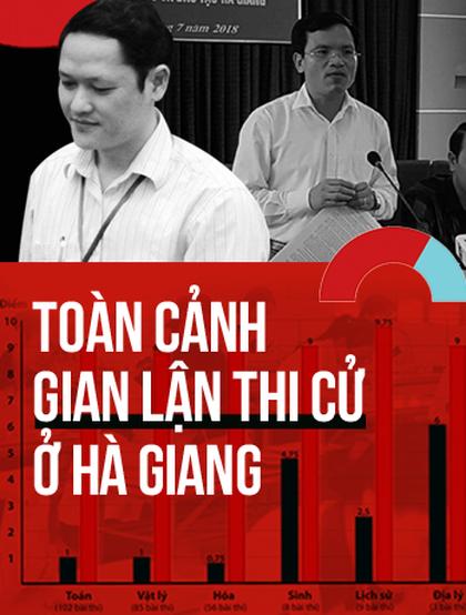 Nhìn lại toàn cảnh vụ gian lận thi cử tại Hà Giang gây bức xúc dư luận thời gian qua