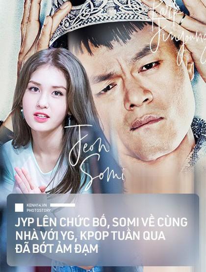 Kpop tuần qua: Tin vui liên tiếp vào cuối tuần, ông chủ nhà JYP chuẩn bị lên chức bố