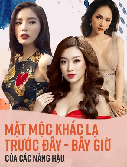 """Mặt mộc khác biệt """"trước đây - bây giờ"""" của các nàng hậu đình đám Việt Nam"""