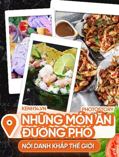 Loạt món ăn đường phố nổi tiếng gắn liền với các đất nước trên thế giới