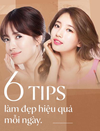 6 tips làm đẹp siêu đơn giản và dễ làm để bạn đẹp lên mỗi ngày