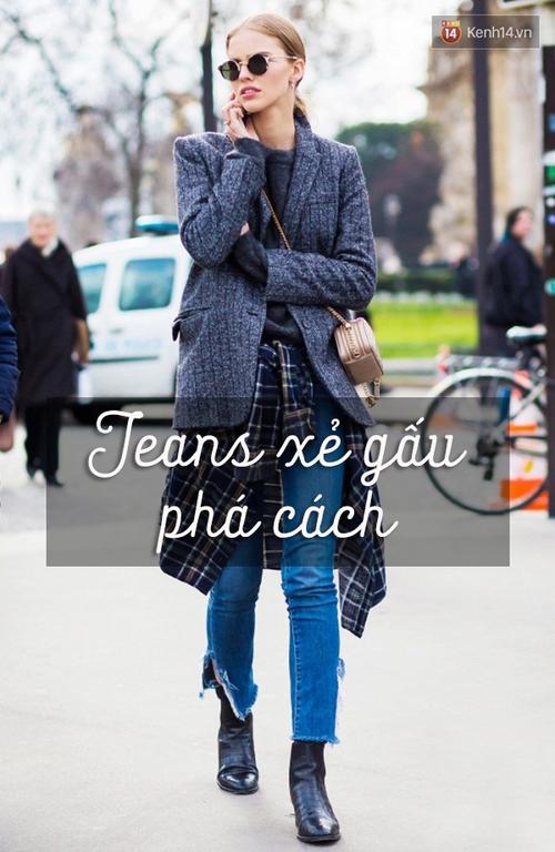 6 cách làm mới quần jeans đảm bảo chất từ các fashion blogger mà bạn nên học hỏi - Ảnh 12.