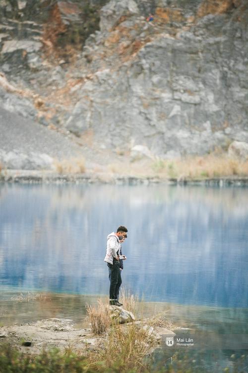 Hồ nước xanh ngắt kì lạ ở Hải Phòng: Địa điểm mới đang khiến giới trẻ xôn xao - Ảnh 13.