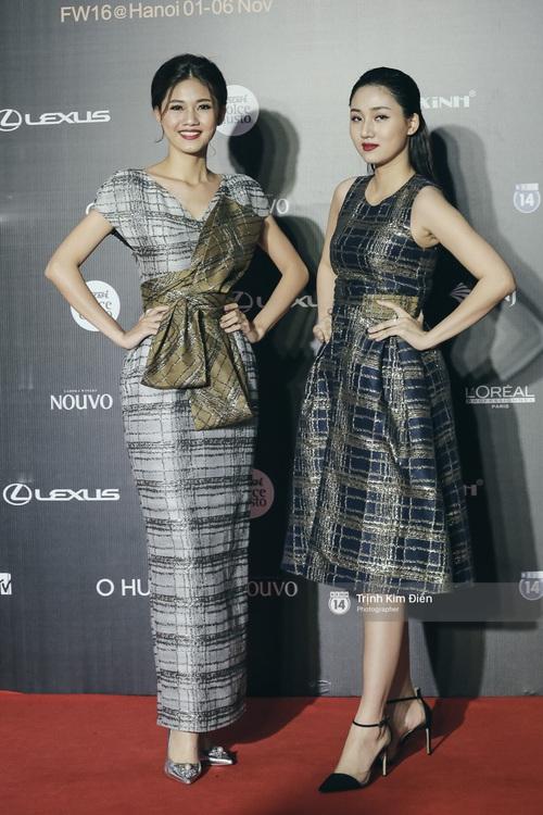 Vietnam International Fashion Week ngày cuối: Midu vẫn giữ style nữ tính trên thảm đỏ cùng dàn Hoa hậu, Á hậu - Ảnh 6.