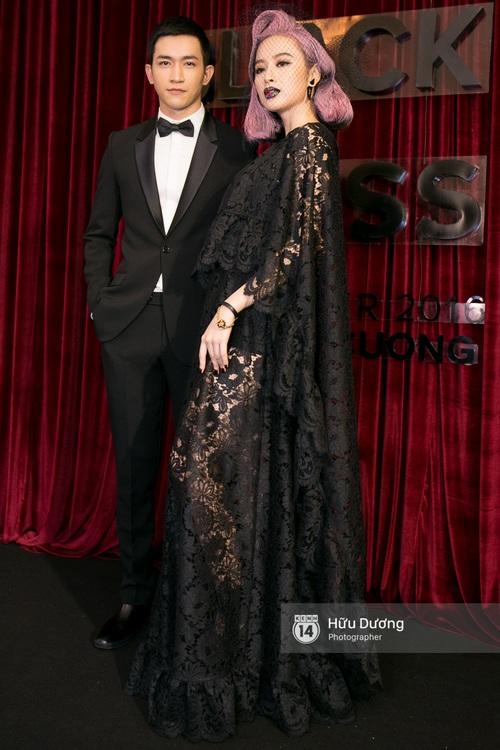 Ma nữ tóc hồng Angela Phương Trinh quá nổi bật, lấn át cả Hoa hậu Kỳ Duyên trên thảm đỏ - Ảnh 5.