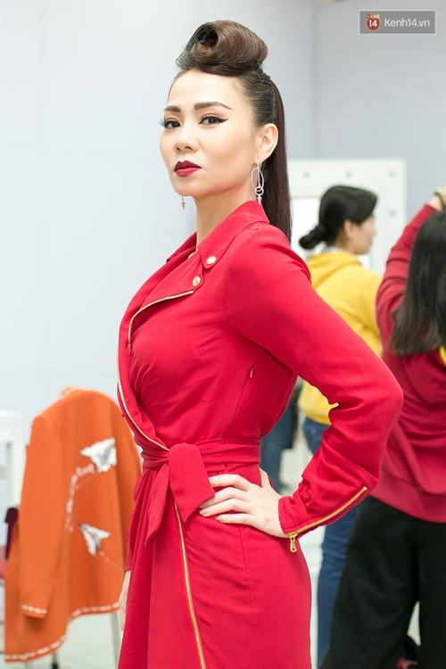 Hoài Lâm cùng bạn gái bất ngờ xuất hiện tại buổi ghi hình Chung kết 1 The Voice - Ảnh 2.