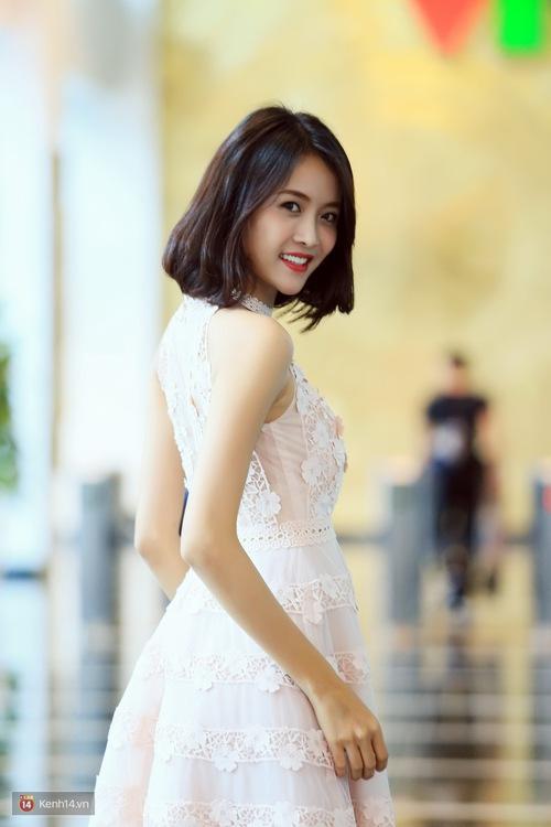 Xuất hiện xinh đẹp như công chúa, Trương Mỹ Nhân gây chú ý khi tiết lộ mẫu hình bạn trai lý tưởng - Ảnh 3.