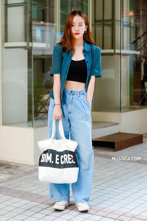 Street style Hàn Quốc cứ chất lừ như thế này bảo sao bạn trẻ nào cũng muốn bắt chước - Ảnh 1.